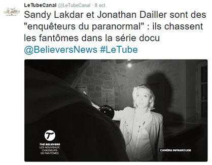 le tube, canal plus, the believers, article, presse, média,