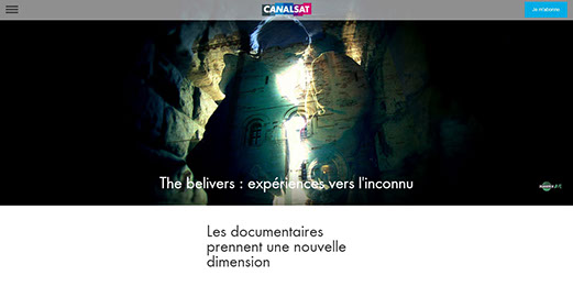 the believers, article, presse, média, canalsat,