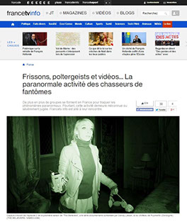 the believers, article, presse, média, francetvinfo,